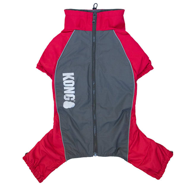 KONG Red Full Coverage Dog Snowsuit, Small - Carousel image #1
