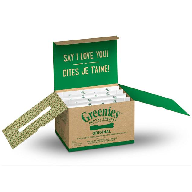 Greenies Original Regular Natural Dental Care Chews Oral Health Dog Treats, 72 oz., Count of 72 - Carousel image #1