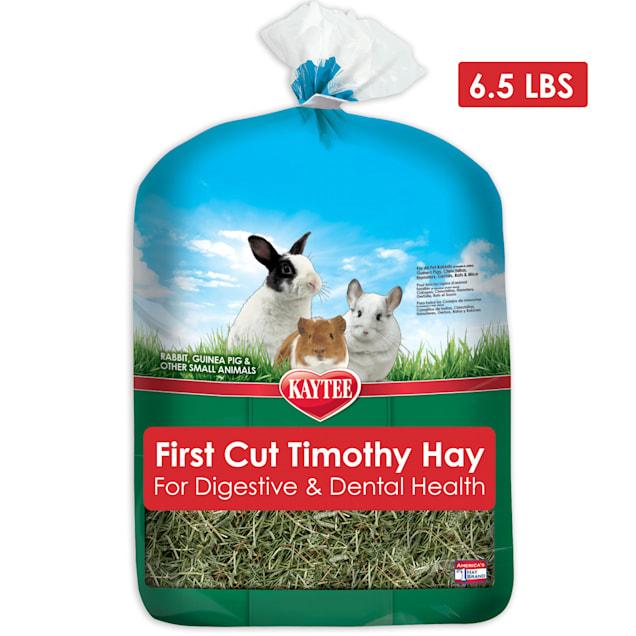 Kaytee First Cut Timothy Hay Small Animal Treats, 6.5 lbs. - Carousel image #1