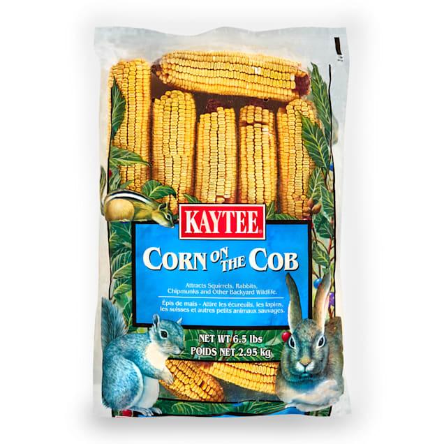 Kaytee Corn On A Cob Wild Pet Food, 6.5 lbs. - Carousel image #1