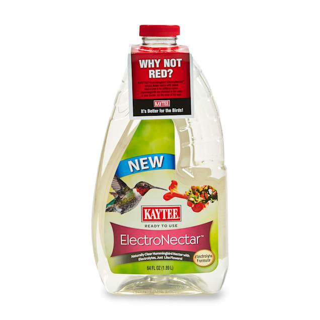Kaytee Hummingbird Electronectar Hydrating Energy Drink for Wild Bird, 64 fl. oz. - Carousel image #1