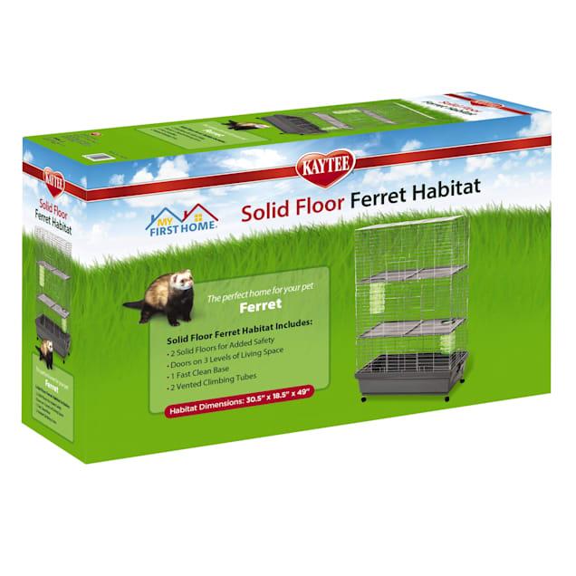 "Kaytee Solid Floor Ferret Habitat, 30.5"" L X 18.5"" W X 49"" H - Carousel image #1"