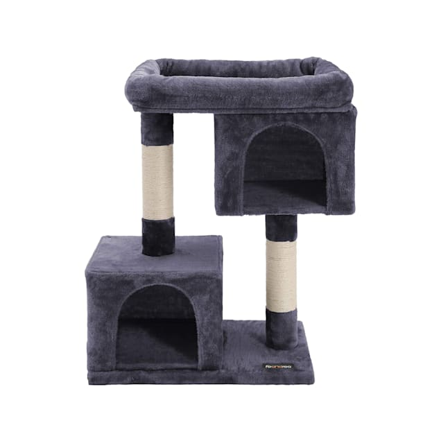 "Feandrea Dark Gray Cat Tree Condo, 33.07"" H - Carousel image #1"