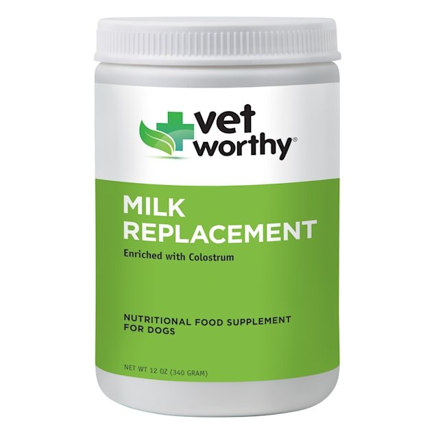Vet Worthy Milk Replacement Powder for Puppies and Dogs, 12 oz. - Carousel image #1