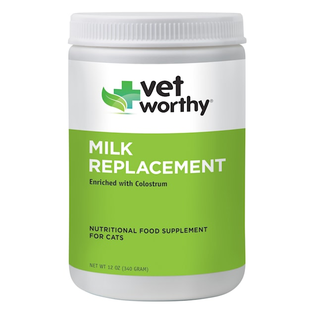 Vet Worthy Cat Milk Replacement for Kittens and Cats, 12 oz. - Carousel image #1