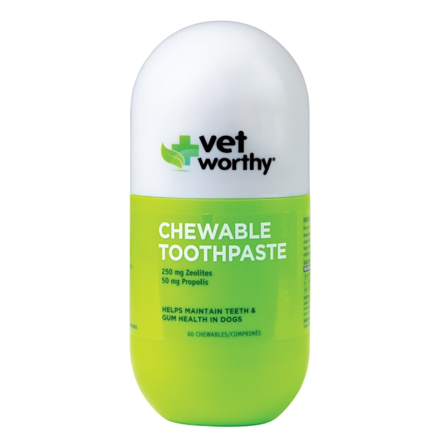 Vet Worthy Chewable Toothpaste for Dogs, Count of 60 - Carousel image #1
