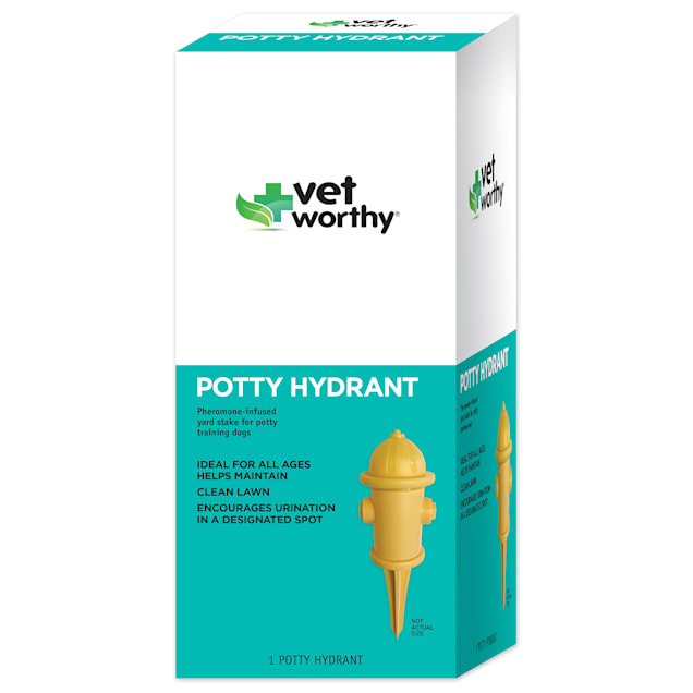 Vet Worthy Potty Hydrant Scented Training Aid for Dogs - Carousel image #1
