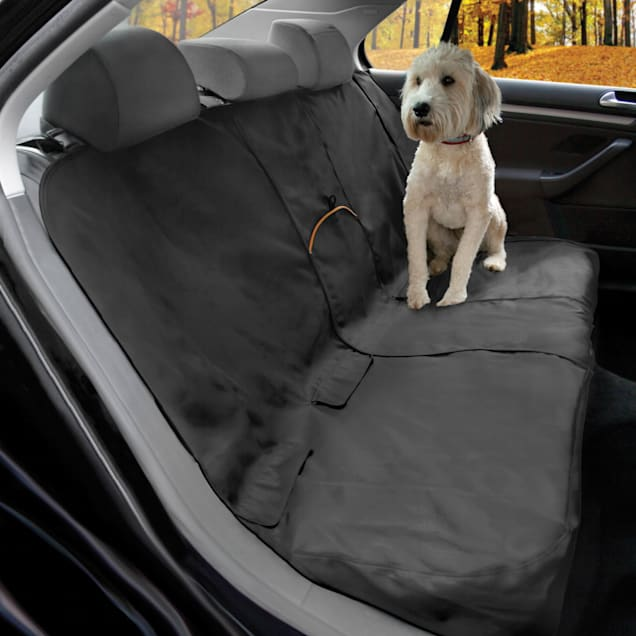 """Kurgo Black Wander Bench Seat Cover for Dogs, 55"""" L X 45"""" W X .3"""" H - Carousel image #1"""