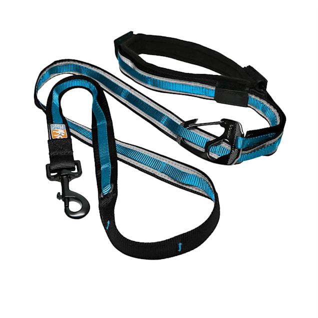 Kurgo Coastal Blue Quantum Dog Leash, 6 ft. - Carousel image #1