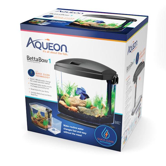 Aqueon BettaBow with Quick Clean Technology Aquarium Kit - Carousel image #1