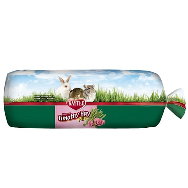 Kaytee Timothy Hay Plus Rose & Thyme for Small Animals, 24 oz. - Carousel image #1