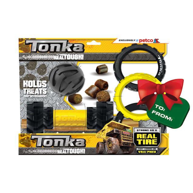 Tonka Gift Set Toys for Dogs, Medium, Pack of 3 - Carousel image #1