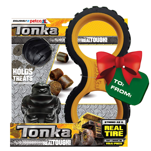 Tonka Gift Set Gorilla Treats Dog Toy, Medium - Carousel image #1