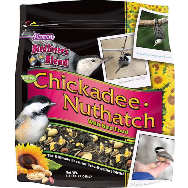 FM Browns Bird Lover's Blend Chickadee/Nuthatch Blend Dry Food, 4.5 lbs. - Carousel image #1