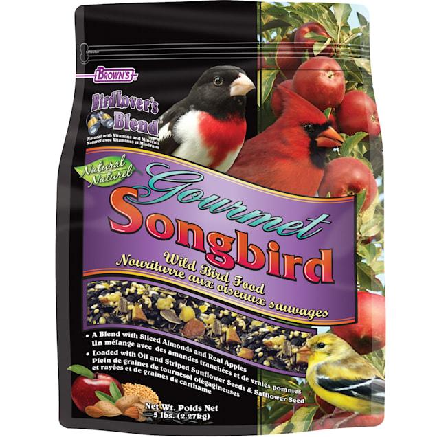 FM Browns Bird Lover's Blend Gourmet Songbird Dry Food, 5 lbs. - Carousel image #1