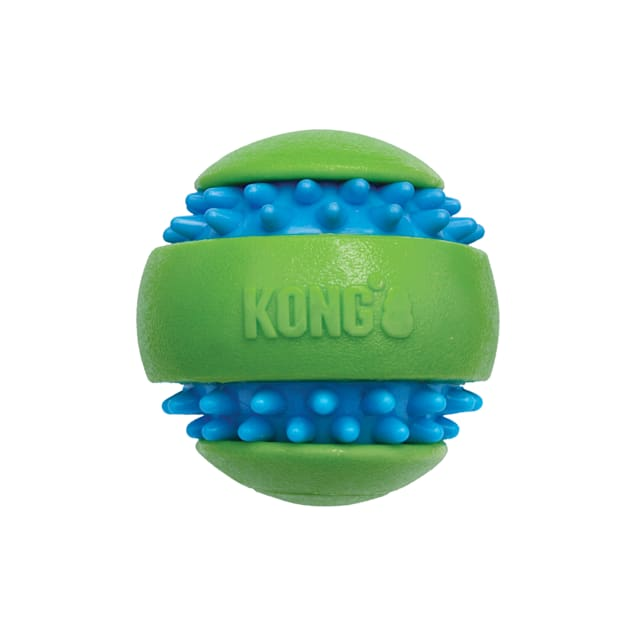 KONG Squeezz Goomz Ball Dog Toys, Medium - Carousel image #1