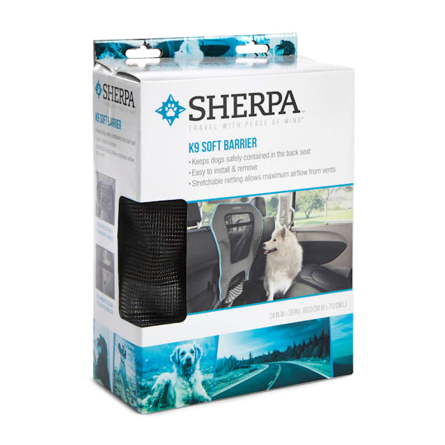 Sherpa K9 Mesh Car Front Seat Barrier for Dogs - Carousel image #1