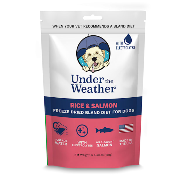 Under the Weather Rice & Salmon Freeze-Dried Bland Diet for Dogs, 6 oz. - Carousel image #1