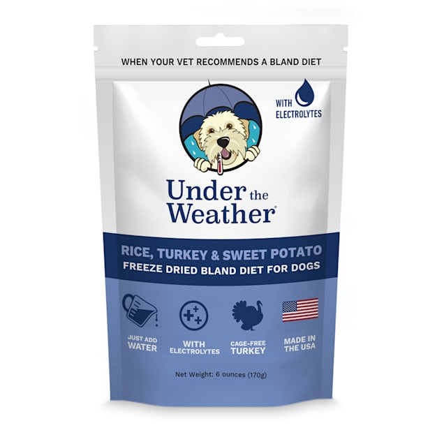 Under the Weather Rice, Turkey & Sweet Potato Freeze-Dried Bland Diet for Dogs, 6 oz. - Carousel image #1