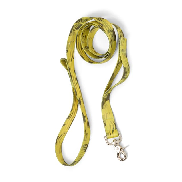 """West Paw Outings Leash with Traffic Handle in Green Groove for Dogs, 60"""" L - Carousel image #1"""