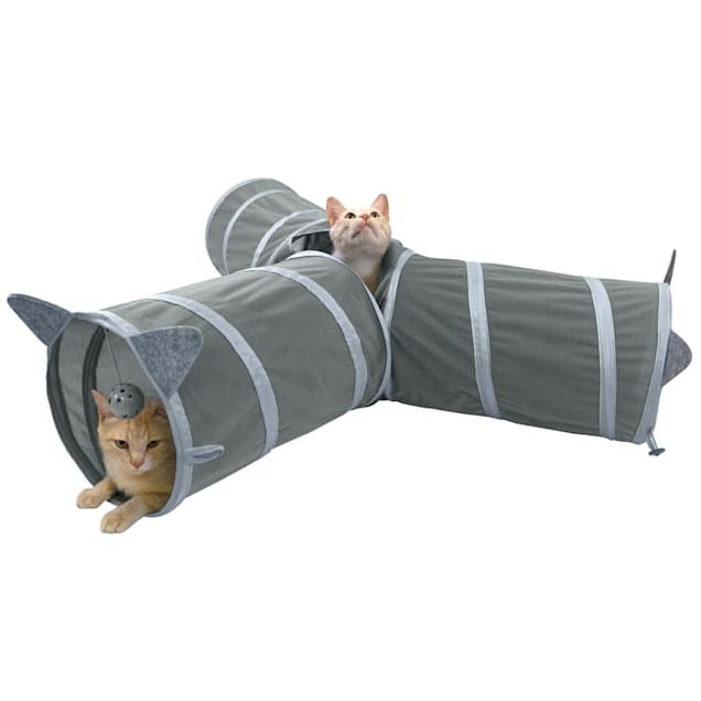 Kitty City Pop Open 3 Way Tunnel for Cats - Carousel image #1