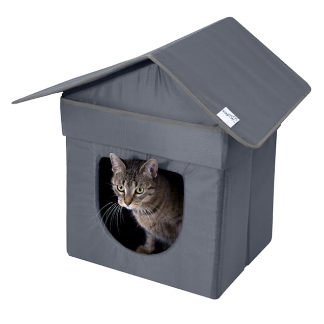 """Kitty City Outdoor Bed for Cats, 21.5"""" H - Carousel image #1"""