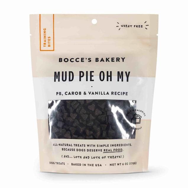 Bocce's Bakery Mud Pie Oh My Training Bites Dog Treats, 6 oz. - Carousel image #1