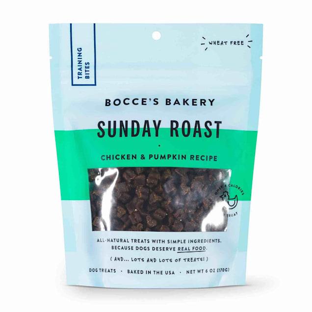 Bocce's Bakery Sunday Roast Training Bites Dog Treats, 6 oz. - Carousel image #1
