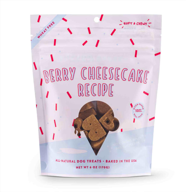Bocce's Bakery Berry Cheesecake Soft & Chewy Dog Treats, 6 oz. - Carousel image #1