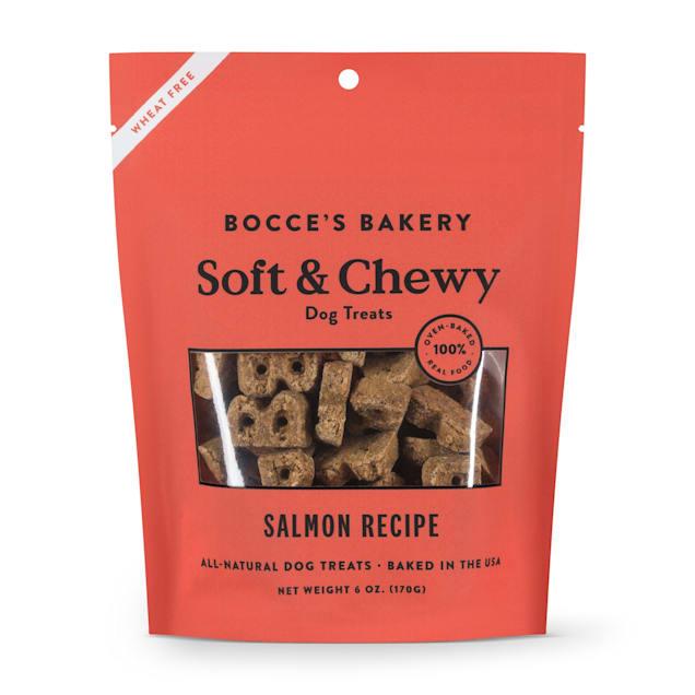 Bocce's Bakery Basic Salmon Soft & Chewy Dog Treats, 6 oz. - Carousel image #1
