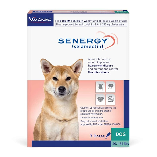 SENERGY TOPICAL 40.1-85 lbs. for Dogs, 3 Month Supply - Carousel image #1