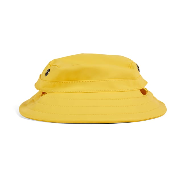 YOULY The Nature Lover Yellow Dog Rain Hat, Small/Medium - Carousel image #1