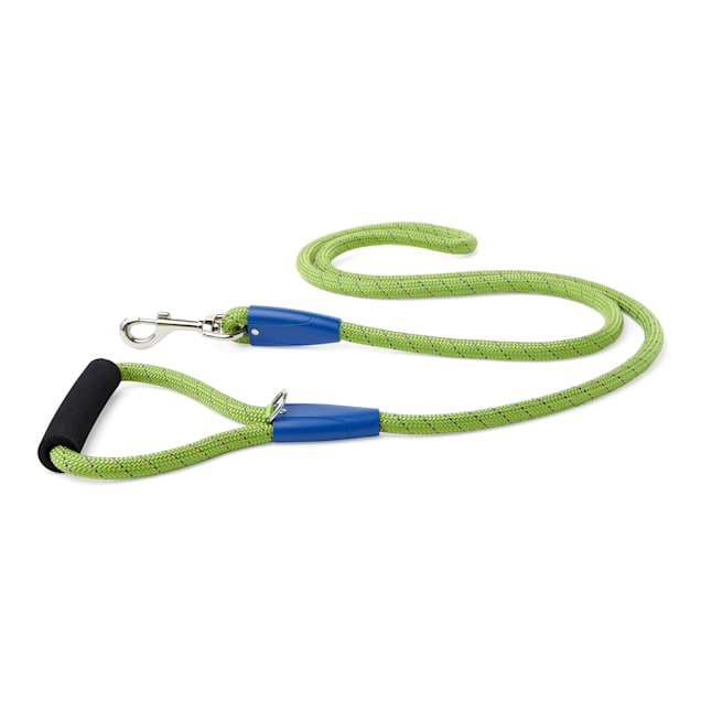 YOULY The Adventurer Green & Blue Dog Leash, 6 ft. - Carousel image #1