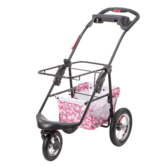 Petique Pink Camo 5-in-1 Frame Pet Carrier, Medium - Carousel image #1