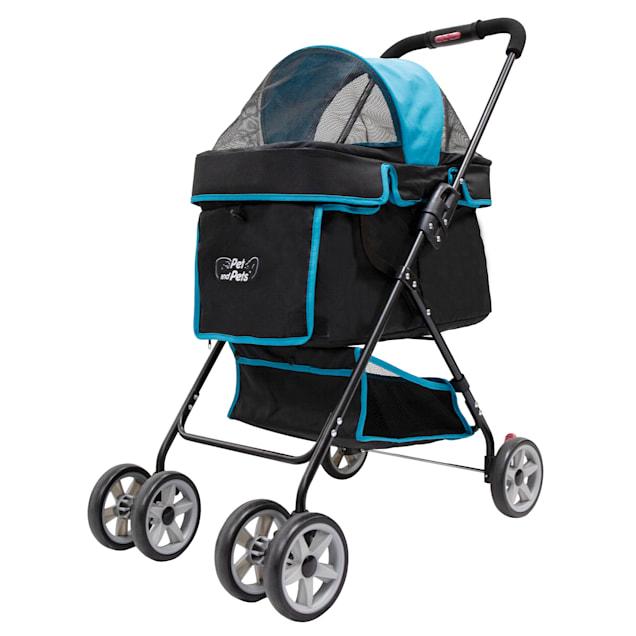 Petique Turquoise Swift Pet Stroller - Carousel image #1