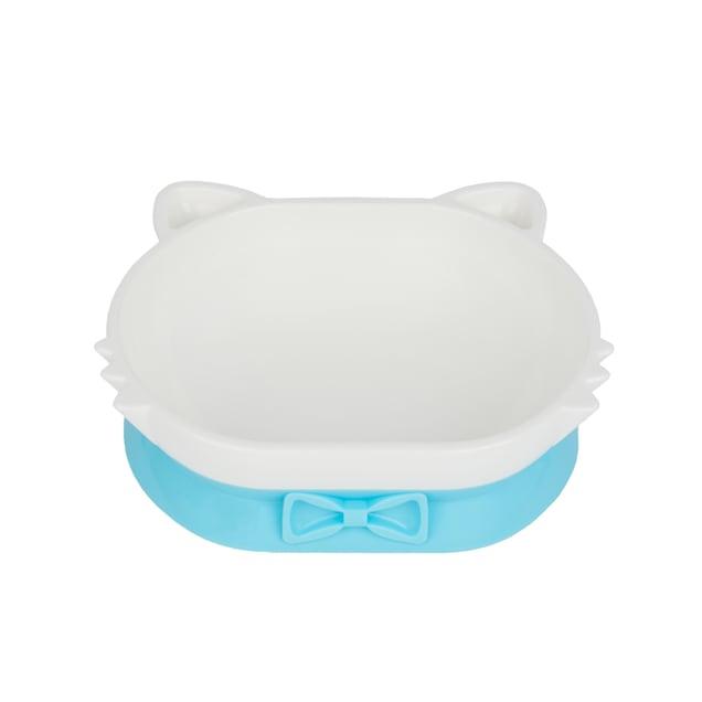 Petique Blue Eco-Friendly PLA Pet Dish Bowl for Cats - Carousel image #1