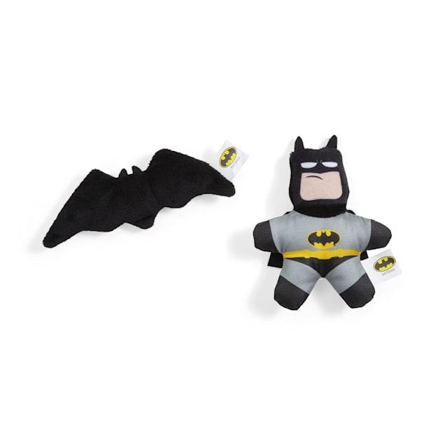 DC Comics Batman Plush Dog Toys, X-Small, Pack of 2 - Carousel image #1