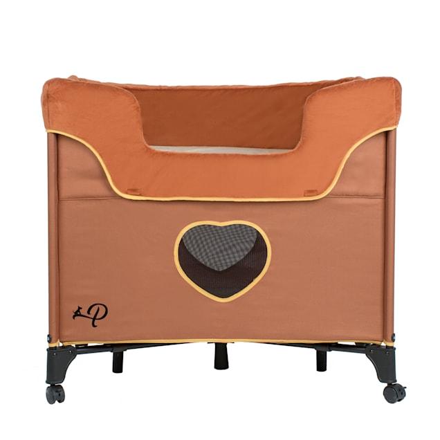"""Petique Bedside Lounge Lion's Den Pet Bed, 33.5"""" L X 22.5"""" W - Carousel image #1"""