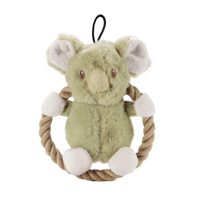 Petique Hula Hemp Rope Koala Dog Toy, Small - Carousel image #1