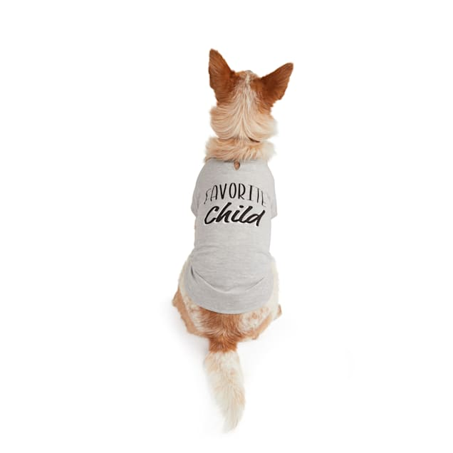 YOULY The Heir Grey Favorite Child Dog T-Shirt, XX-small - Carousel image #1