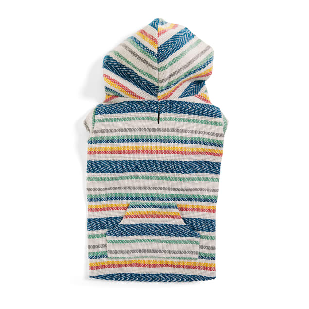 YOULY The Beach Bum Multicolor Baja Dog Hoodie, X-Small - Carousel image #1