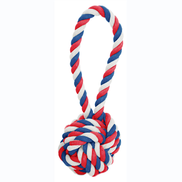 Harry Barker Rope Tug & Toss Canines for Veterans Dog Toy, Small - Carousel image #1