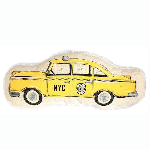 Harry Barker Taxicab Canvas Dog Toy, Small - Carousel image #1