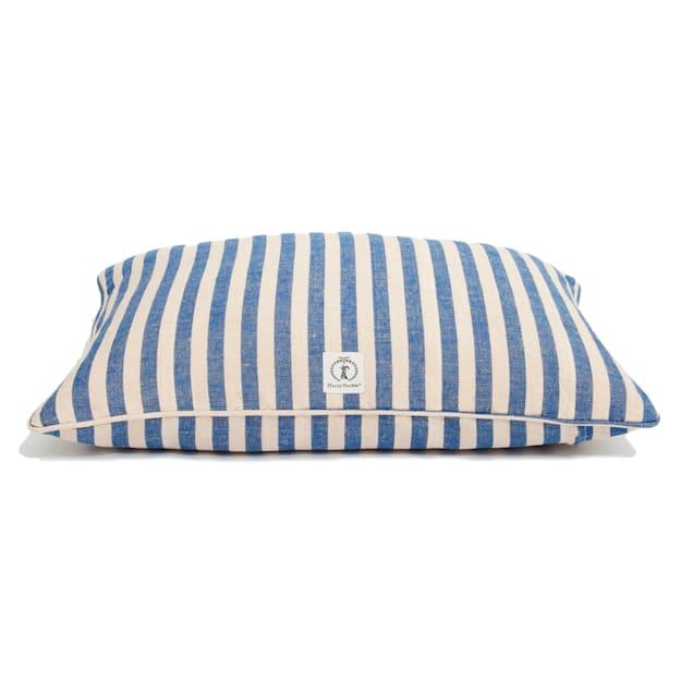 """Harry Barker Blue Vintage Stripe Envelope Dog Bed Cover, 30"""" L X 24"""" W - Carousel image #1"""