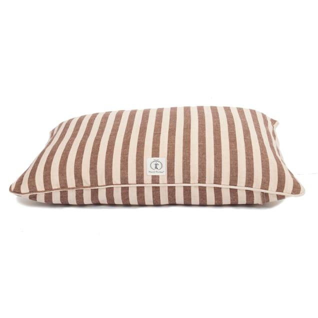 """Harry Barker Brown Vintage Stripe Envelope Dog Bed Cover, 30"""" L X 24"""" W - Carousel image #1"""