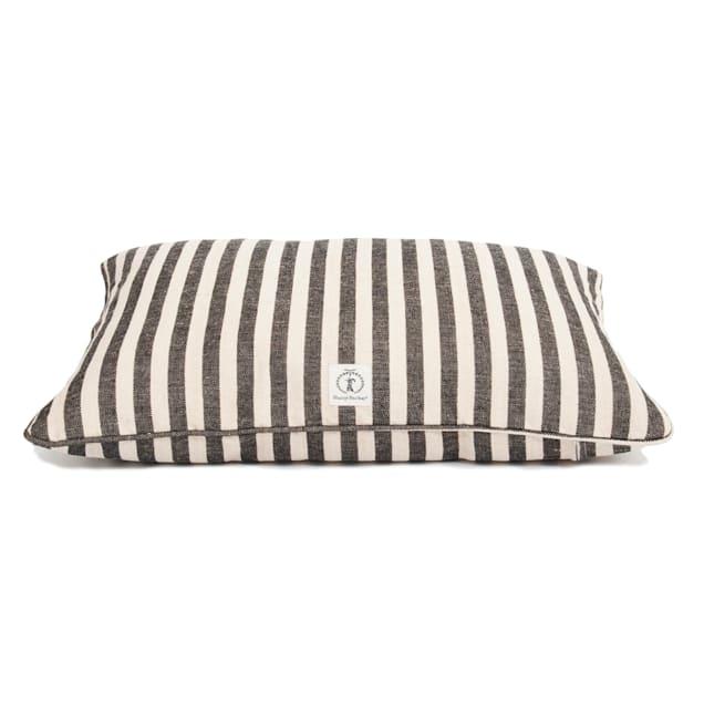 """Harry Barker Black Vintage Stripe Envelope Dog Bed Cover, 30"""" L X 24"""" W - Carousel image #1"""