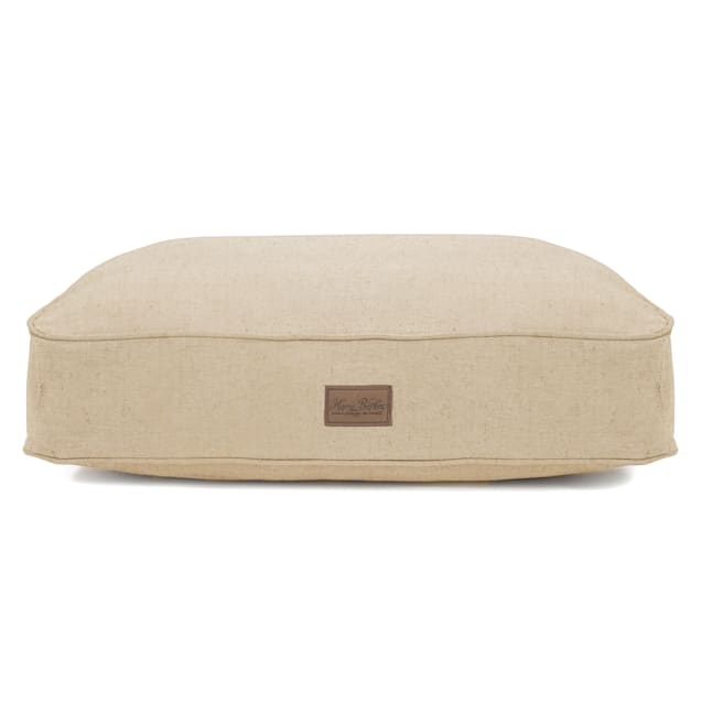 """Harry Barker Natural Tweed Rectangle Dog Bed, 26"""" L X 20"""" W X 5"""" H - Carousel image #1"""