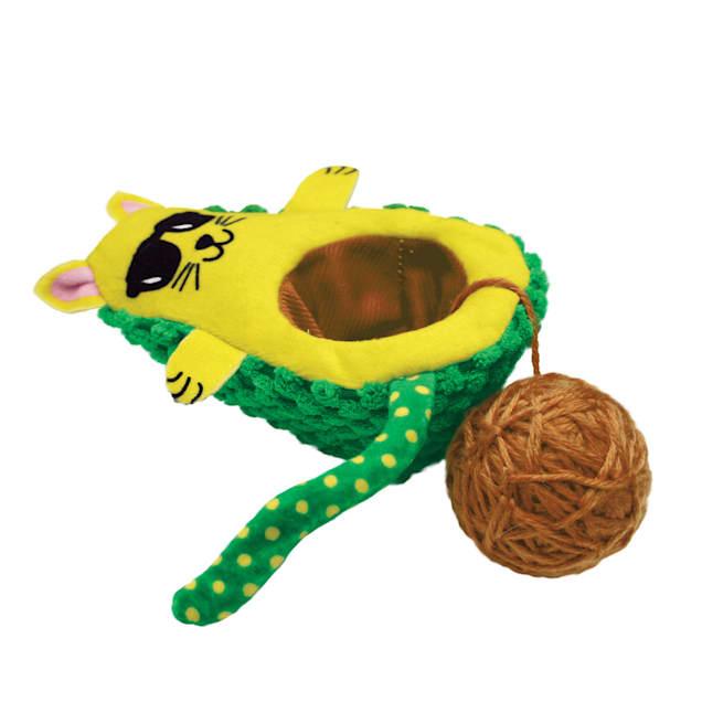 KONG Wrangler AvoCATo Cat Toys - Carousel image #1