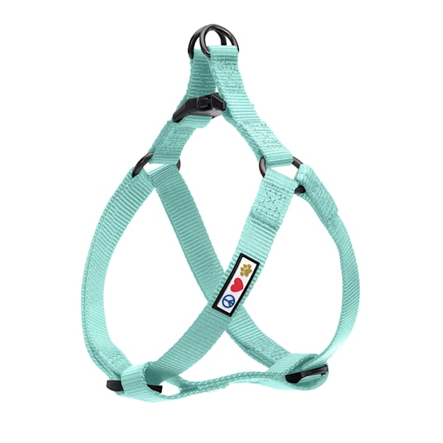 Pawtitas Solid Color Teal Puppy or Dog Harness, X-Small - Carousel image #1