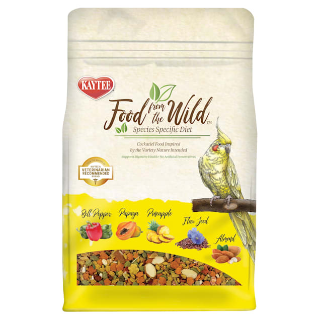 Kaytee Food From the Wild for Cockatiel, 2.5 lbs. - Carousel image #1